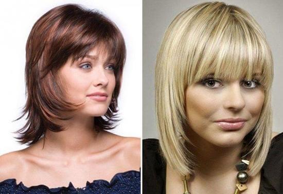 Причёски на круглое лицо: фото, какие подойдут по внешности