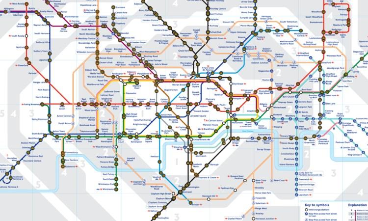 live tube map app