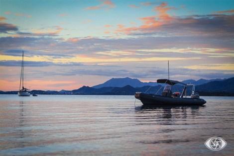 Encore un coucher de soleil depuis l'îlot Bailly