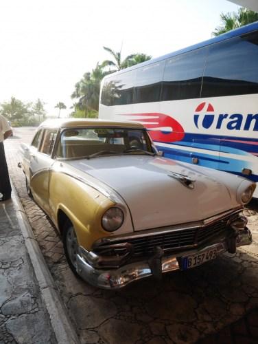 Notre voiture pour La Havane