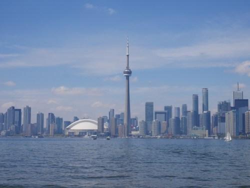 Toronto vue de l'île