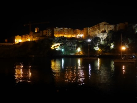 Bastia by night