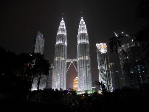 Petronas twin towers à Kuala Lumpur - Malaisie