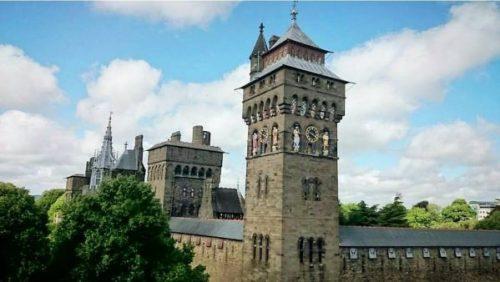Le chateau de Cardiff