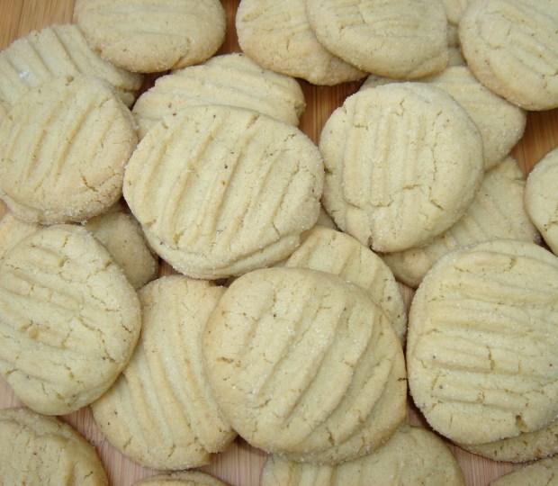 Gluten-free Sugar Crunchies