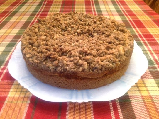Do-over failured Coffee Cake with Pumpkin Filling