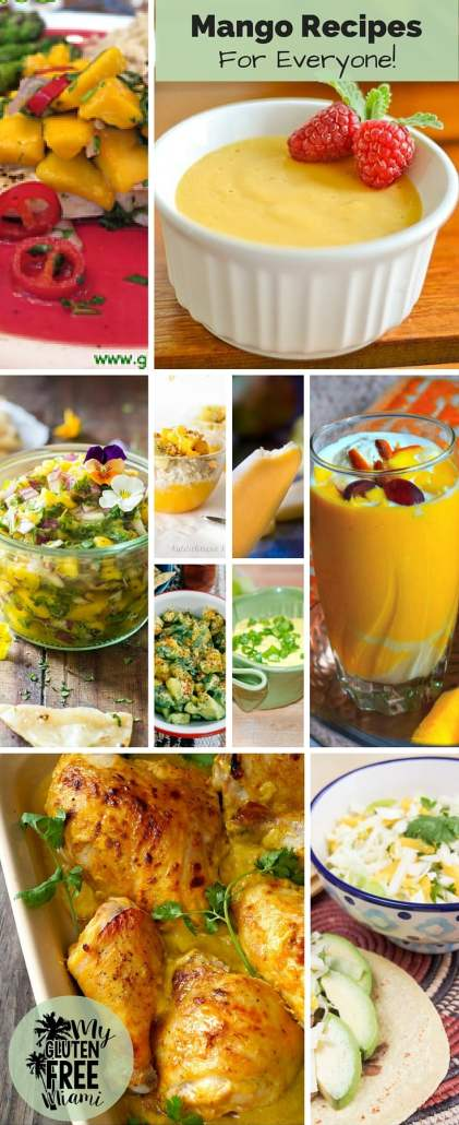 Gluten Free Mango Recipes