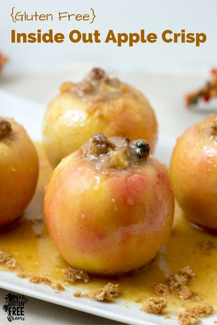 Gluten Free Apple Crisp | https://myglutenfreemiami.com