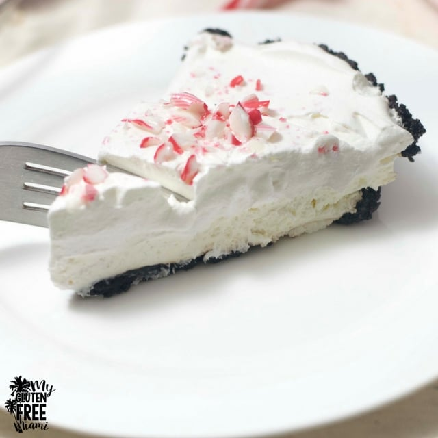 Gluten Free Mint Slims Peppermint Pie