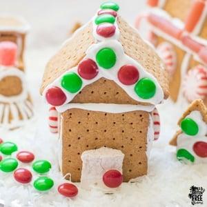 Easy Gluten Free Gingerbread Houses