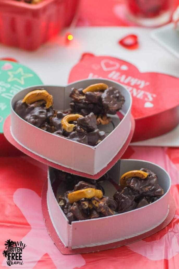 Gluten Free Pecan Pretzels Chocolate