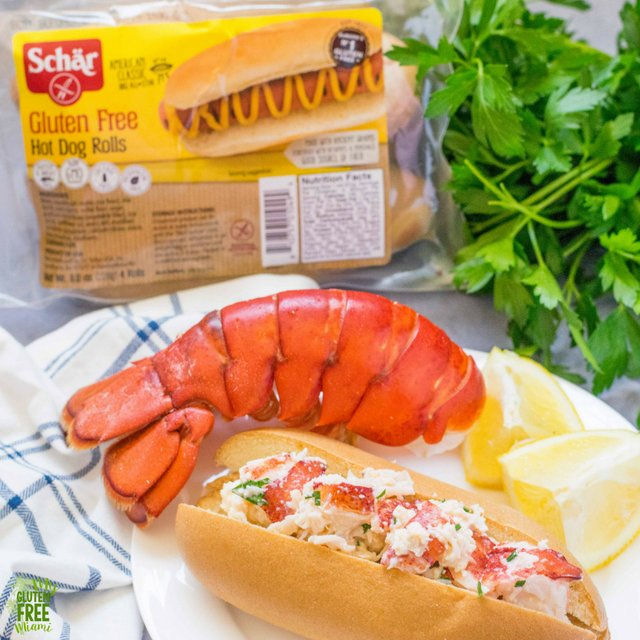 Simple Gluten Free Lobster Roll With Fresh Herbs My