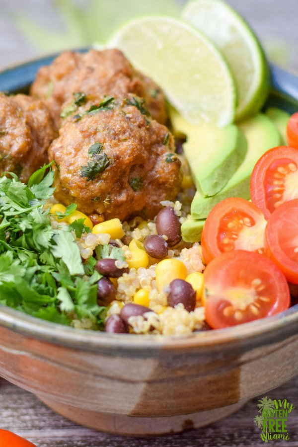 This Wild Boar Meatball Taco Bowl is a great addition to your weekly meal rotation. Packed with nutrients, wild boar brings an additional layer of flavor to the Quinoa Taco Bowl.