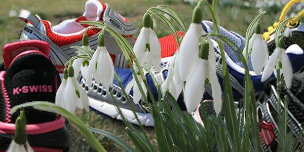 Lauftraining im Frühling, so gelingt der Einstieg