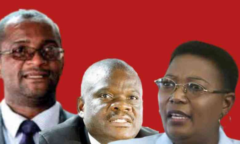 Four Top Members Eye the MDC-T Presidency