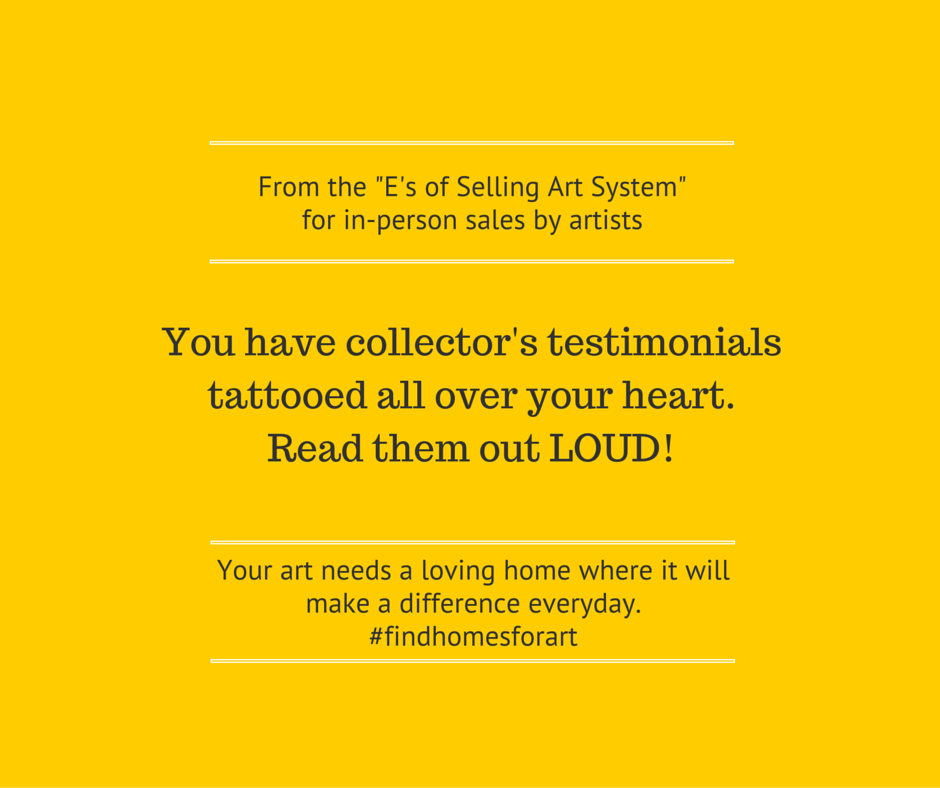 Testimonials are tattooed on your heart.