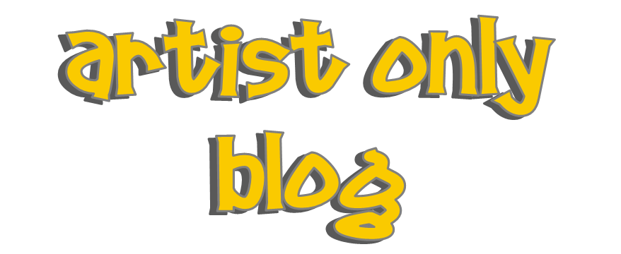 Artists need this blog
