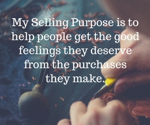My Selling Purpose is to help artists
