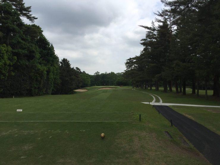 12th hole at Naruo Golf Club
