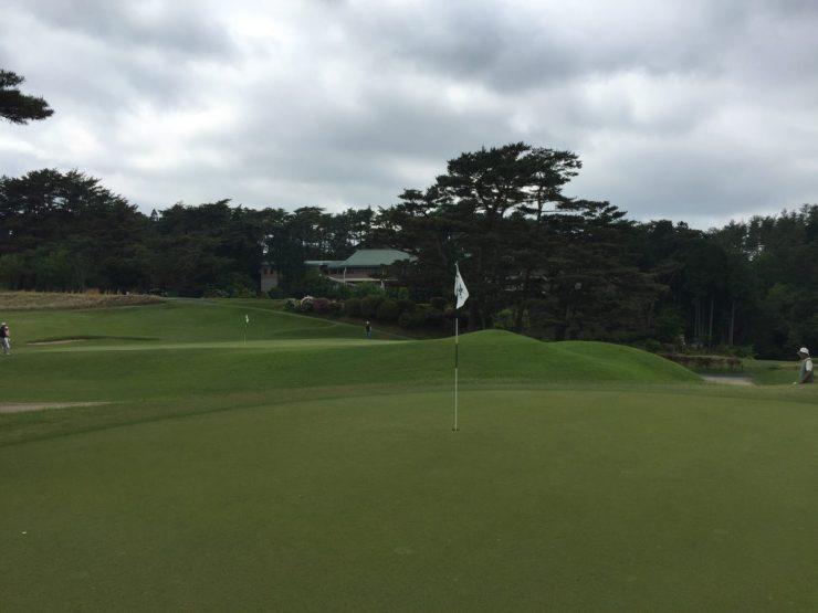 hole 13 at Naruo Golf Club
