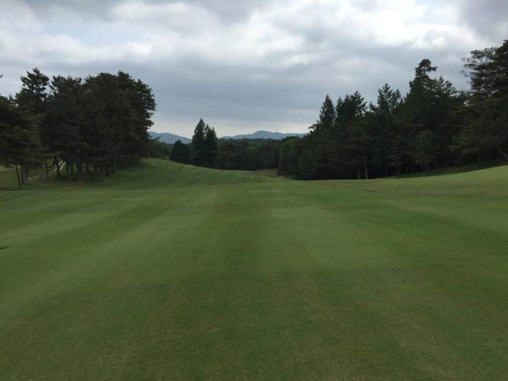 14th hole at Naruo Golf Club