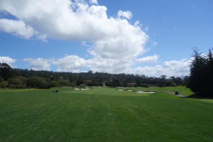 2nd hole at Pebble Beach golf links