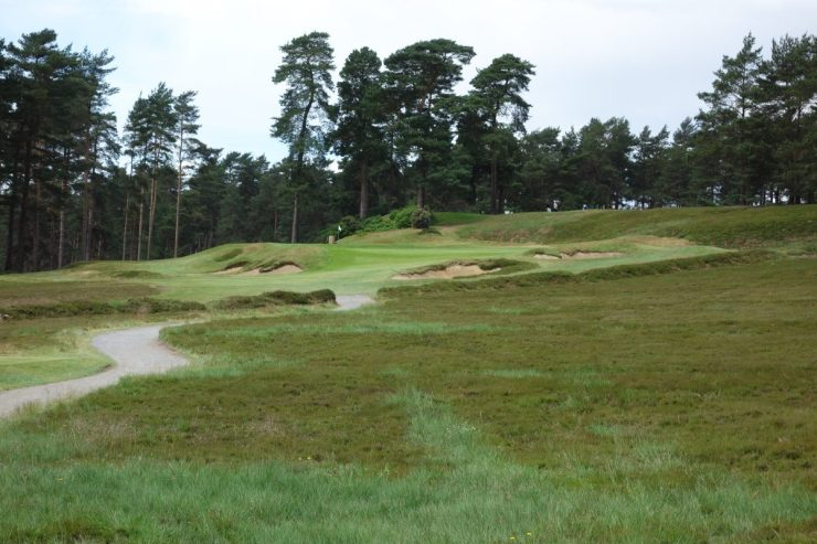 Hole 4, Par 3, 156m at Swinley Forest Golf Club