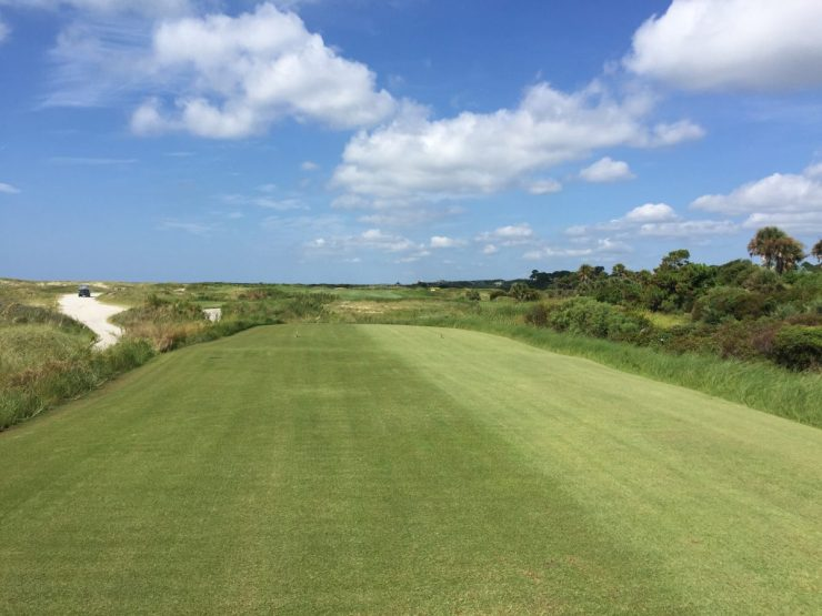 Hole 11, Par 5, 521 yards at Kiawah Island Ocean course