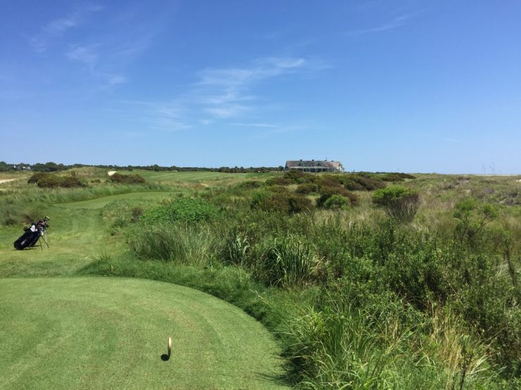 Hole 18, Par 4, 421 yards at Kiawah Island Ocean course