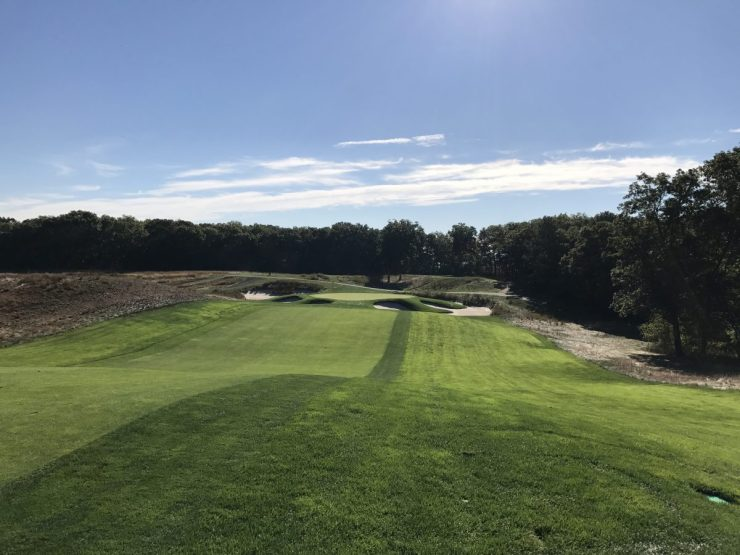 approach to 6th at Bethpage black