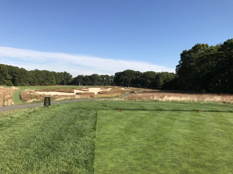 Par 5, 7th at Bethpage black