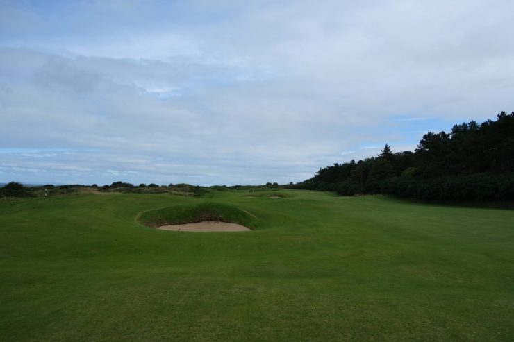 4th fairway at Royal Portrush Dunluce links