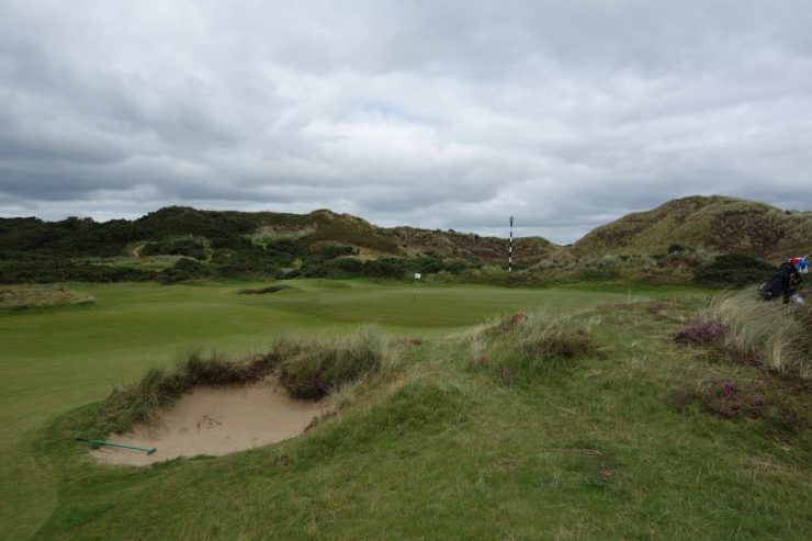 approach to 4th at Royal County Down