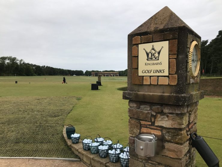 kingbarns golf links driving range