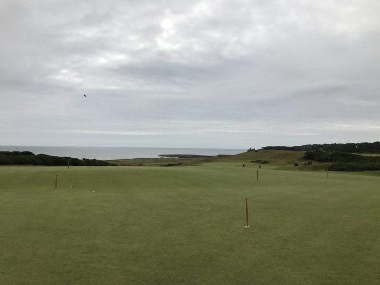 kingbarns golf links putter green