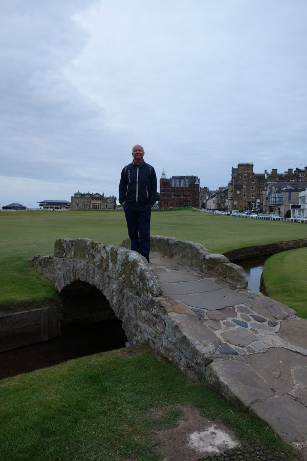 swilcan bridge st Andrews old course
