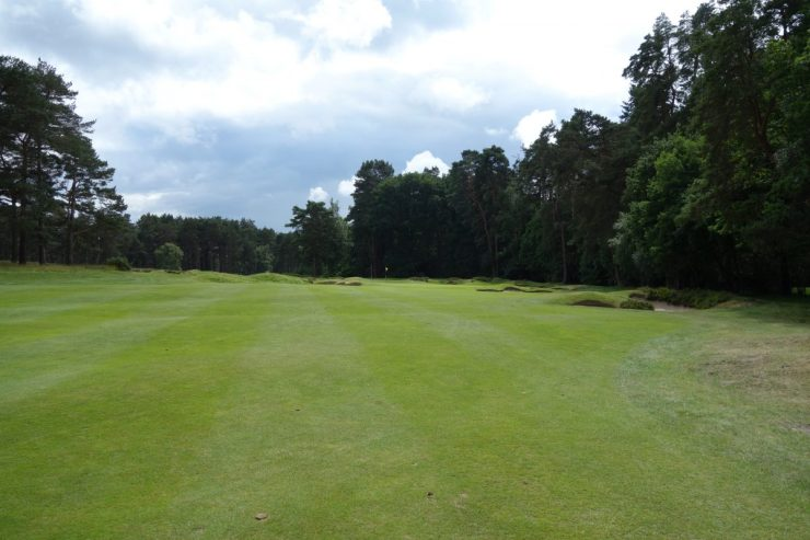3rd hole at sunningdale old course