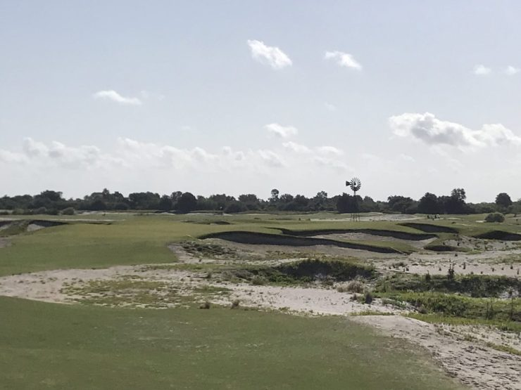 7th hole at streamsong black
