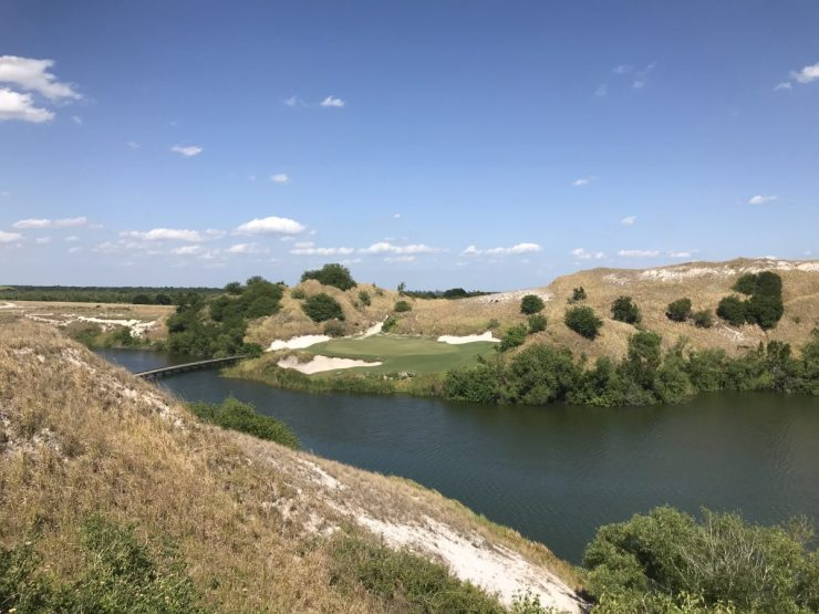 7th hole streamsong blue