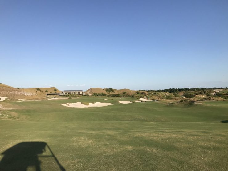 18th hole streamsong blue