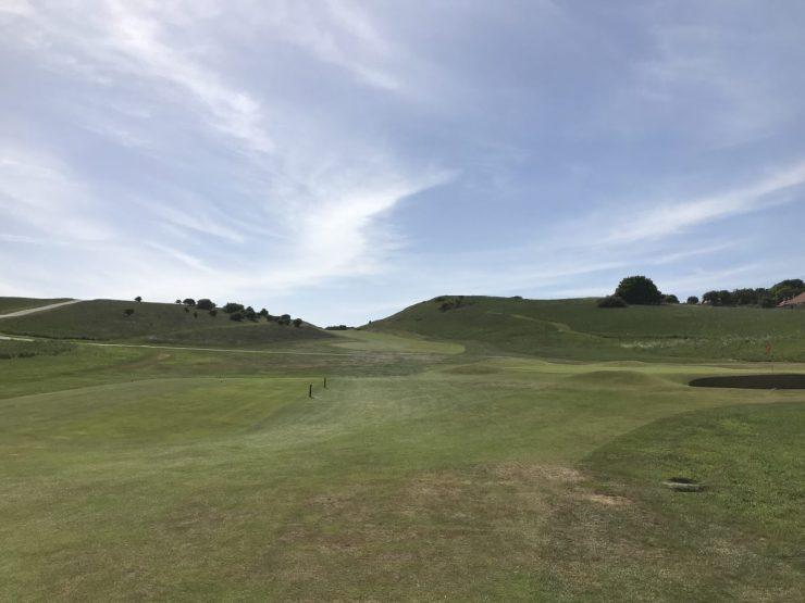 2nd hole Gullane