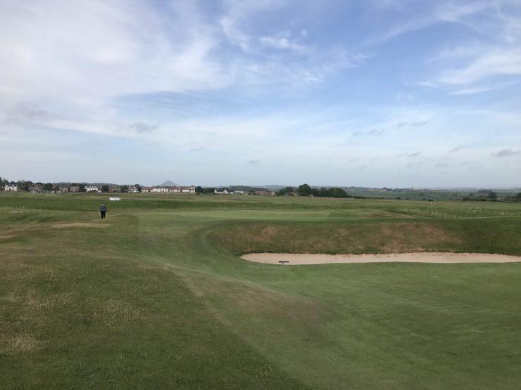 17th hole gullane