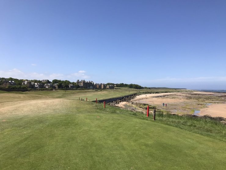 4th hole at North Berwick