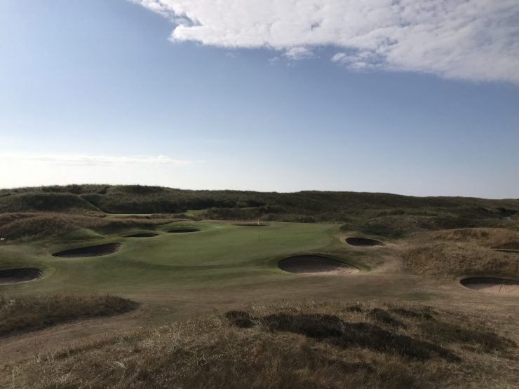 8th hole on Royal Aberdeen