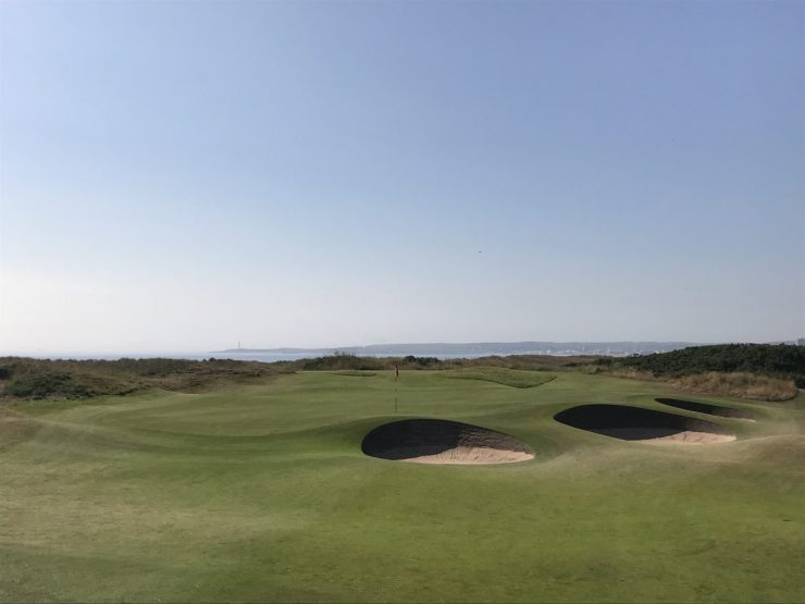 Royal Aberdeen Golf Club 14th green