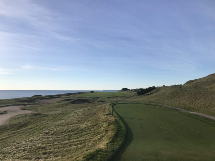 Hole 2 Whistling straits