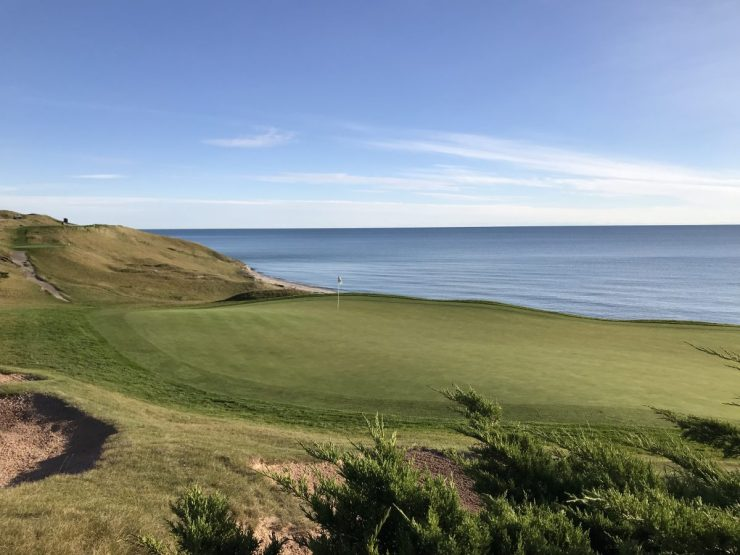 view of 3rd green Whistling straits