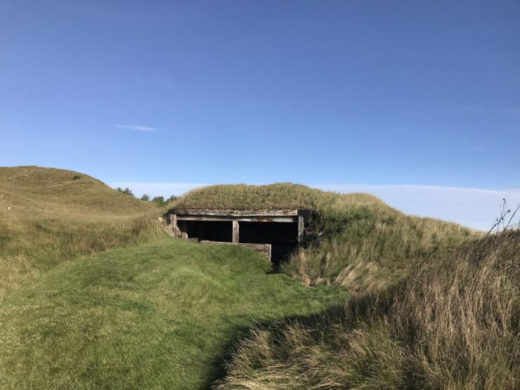 Whistling straits shelter