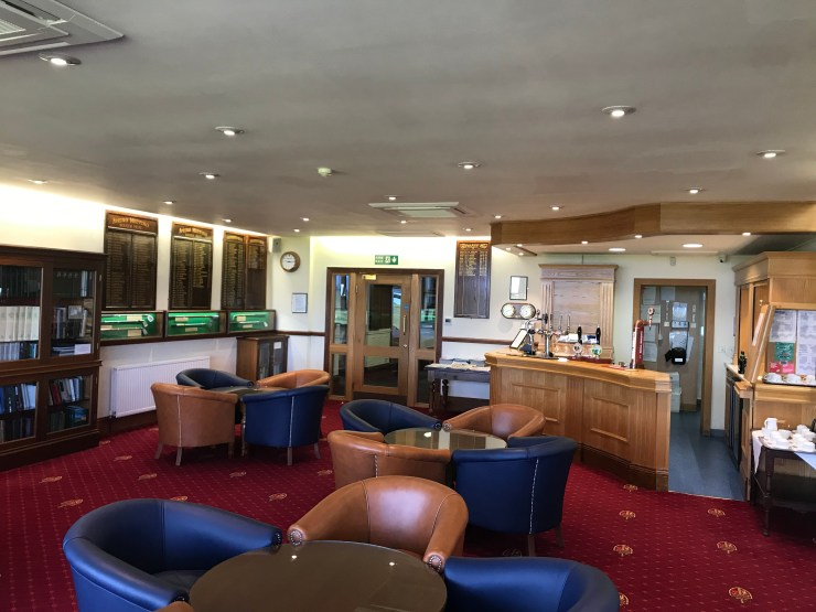 Lounge area at Royal Birkdale Golf Club