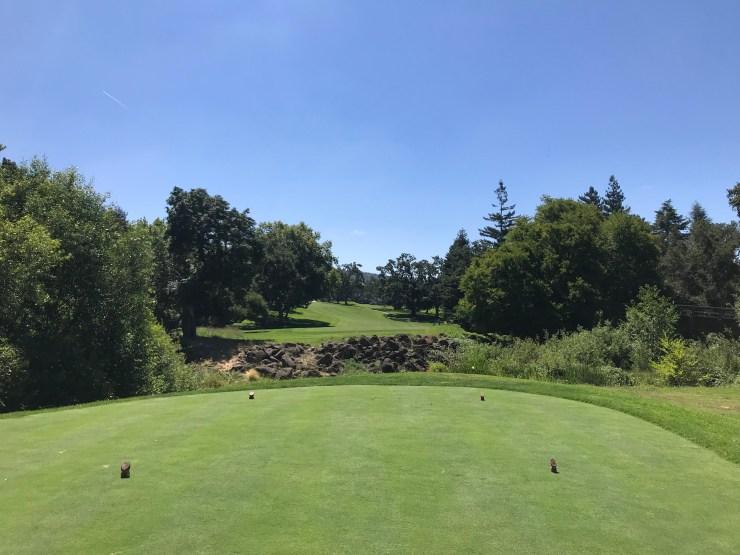 Hole 8 at Silverado Country Club